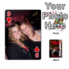 Vegas Mix Cards By Stephie Shell   Playing Cards 54 Designs   Fxymap1dusqw   Www Artscow Com Front - Heart9