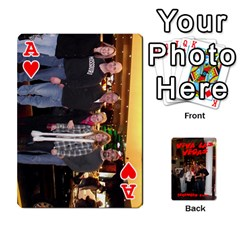 Ace Vegas Mix Cards By Stephie Shell   Playing Cards 54 Designs   Fxymap1dusqw   Www Artscow Com Front - HeartA