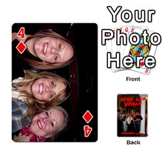 Vegas Mix Cards By Stephie Shell   Playing Cards 54 Designs   Fxymap1dusqw   Www Artscow Com Front - Diamond4