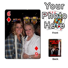 Vegas Mix Cards By Stephie Shell   Playing Cards 54 Designs   Fxymap1dusqw   Www Artscow Com Front - Diamond6