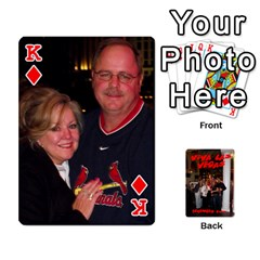 King Vegas Mix Cards By Stephie Shell   Playing Cards 54 Designs   Fxymap1dusqw   Www Artscow Com Front - DiamondK