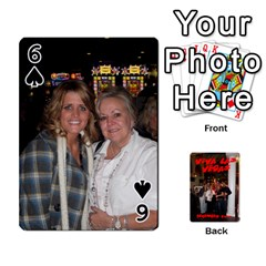 Vegas Mix Cards By Stephie Shell   Playing Cards 54 Designs   Fxymap1dusqw   Www Artscow Com Front - Spade6