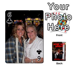 Vegas Mix Cards By Stephie Shell   Playing Cards 54 Designs   Fxymap1dusqw   Www Artscow Com Front - Club6