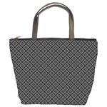 Gray Diamond Custom Bucket Bag
