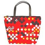 Indian Art Custom Bucket Bag