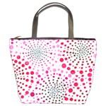 Pink Fireworks Custom Bucket Bag
