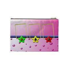 Christmas Baby Cosmetic Bag   Medium By Daniela   Cosmetic Bag (medium)   Ucnabop0d6xt   Www Artscow Com Back