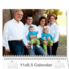 Calendar 2011 By Courtney Milam   Wall Calendar 11  X 8 5  (12 Months)   94o5pekuoar1   Www Artscow Com Cover