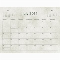 Rescue Calander By Tracy Caccavella Perrin   Wall Calendar 11  X 8 5  (12 Months)   Bkd98l6kn8hs   Www Artscow Com Jul 2011
