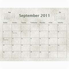 Rescue Calander By Tracy Caccavella Perrin   Wall Calendar 11  X 8 5  (12 Months)   Bkd98l6kn8hs   Www Artscow Com Sep 2011