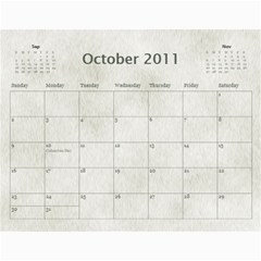 Rescue Calander By Tracy Caccavella Perrin   Wall Calendar 11  X 8 5  (12 Months)   Bkd98l6kn8hs   Www Artscow Com Oct 2011