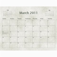 Rescue Calander By Tracy Caccavella Perrin   Wall Calendar 11  X 8 5  (12 Months)   Bkd98l6kn8hs   Www Artscow Com Mar 2011