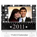 ashlee Christmas 2010 - Wall Calendar 11  x 8.5  (12-Months)