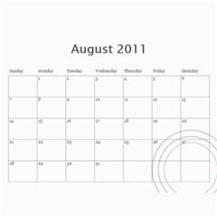 12 Mos Calendar By Marion Gates   Wall Calendar 11  X 8 5  (12 Months)   3dp4yvylho1k   Www Artscow Com Aug 2011