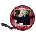 personalized hugs & Kisses cd case - Classic 20-CD Wallet