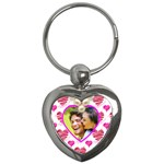 All of my Heart Valentines Heart Keyring - Key Chain (Heart)