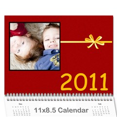 Family Calendar By Marcela   Wall Calendar 11  X 8 5  (12 Months)   Onvsio4wvxt5   Www Artscow Com Cover