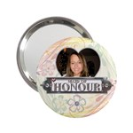 Maid of Honour (Canadian Spelling) Handbag Mirror - 2.25  Handbag Mirror