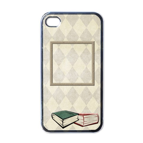 A Good Read Iphone Case By Lisa Minor   Apple Iphone 4 Case (black)   Agh4d4n6o99c   Www Artscow Com Front