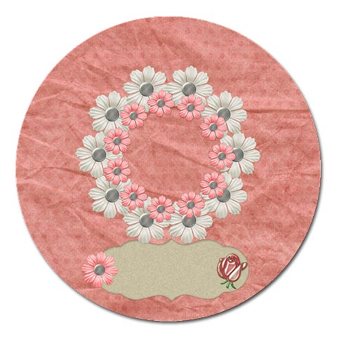 Amore Round Magnet 1 By Lisa Minor   Magnet 5  (round)   Pietno8a15vf   Www Artscow Com Front