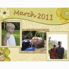 2011 Marlow Calendar By Heather Marlow   Wall Calendar 11  X 8 5  (12 Months)   A464er5lxqnc   Www Artscow Com Month