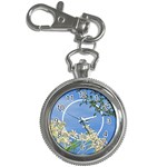 Botanical Wonderland Keychain Watch 1 - Key Chain Watch