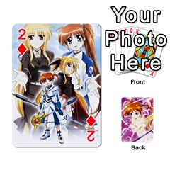 Nanoha Dek By Linysia   Playing Cards 54 Designs   Ydqqdoykqi6z   Www Artscow Com Front - Diamond2