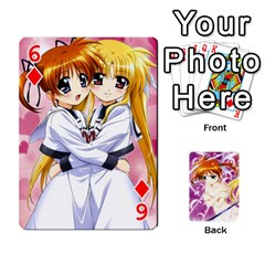 Nanoha Dek By Linysia   Playing Cards 54 Designs   Ydqqdoykqi6z   Www Artscow Com Front - Diamond6