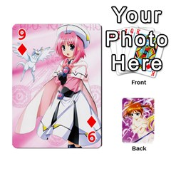Nanoha Dek By Linysia   Playing Cards 54 Designs   Ydqqdoykqi6z   Www Artscow Com Front - Diamond9
