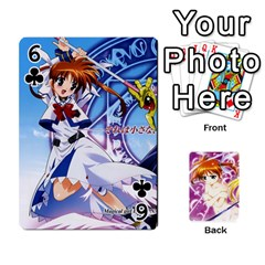 Nanoha Dek By Linysia   Playing Cards 54 Designs   Ydqqdoykqi6z   Www Artscow Com Front - Club6