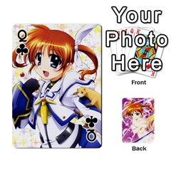 Queen Nanoha Dek By Linysia   Playing Cards 54 Designs   Ydqqdoykqi6z   Www Artscow Com Front - ClubQ