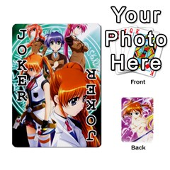 Nanoha Dek By Linysia   Playing Cards 54 Designs   Ydqqdoykqi6z   Www Artscow Com Front - Joker1