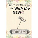 2011 Dream Notebook - 5.5  x 8.5  Notebook