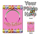 Happy Birthday card invitation - Multi-purpose Cards (Rectangle)