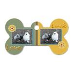 Love & Luck - Dog tag - Dog Tag Bone (One Side)