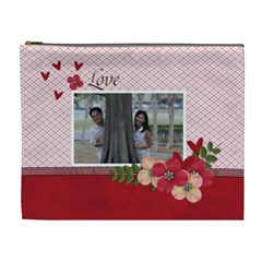 Xl Cosmetic Bag  Love Is In The Air By Jennyl   Cosmetic Bag (xl)   Nsut7636wqlx   Www Artscow Com Front