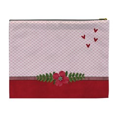 Xl Cosmetic Bag  Love Is In The Air By Jennyl   Cosmetic Bag (xl)   Nsut7636wqlx   Www Artscow Com Back