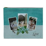XL Cosmetic Case- Together in LOVE - Cosmetic Bag (XL)