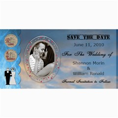 Wedding Save The Date Cards #5 By Lil    4  X 8  Photo Cards   Pi65p4h4z6hg   Www Artscow Com 8 x4 Photo Card - 5