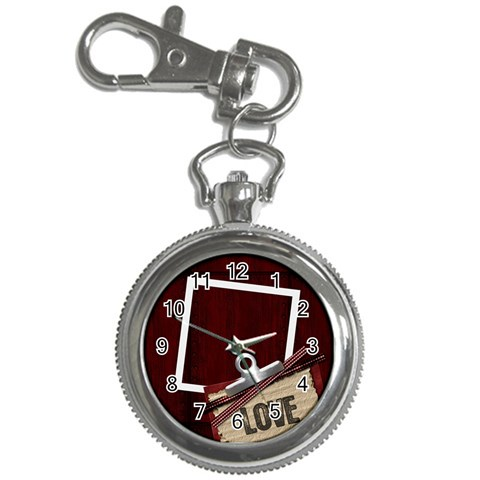 Love Keychain Watch 1 By Lisa Minor   Key Chain Watch   4hopr6vrtkyx   Www Artscow Com Front