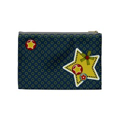 Medium  Cosmetic Case Stars By Jennyl   Cosmetic Bag (medium)   Fy0kwz46yk9g   Www Artscow Com Back