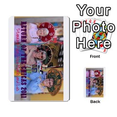 Chiacs Return By Hertelalice    Multi Purpose Cards (rectangle)   O8iuaxckrmoa   Www Artscow Com Front 3