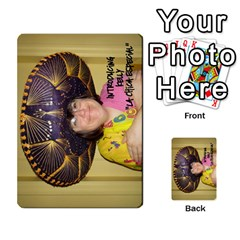 Chiacs Return By Hertelalice    Multi Purpose Cards (rectangle)   O8iuaxckrmoa   Www Artscow Com Back 32