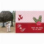 Save the Date Cards- Love - 4  x 8  Photo Cards