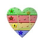 Christmas Baby magnet - Magnet (Heart)