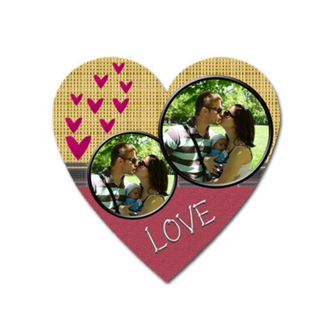 Love Magnet By Daniela   Magnet (heart)   Vtm2wm4vebpg   Www Artscow Com Front