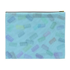Blocks By Patricia W   Cosmetic Bag (xl)   Upy2f85d2bc0   Www Artscow Com Back