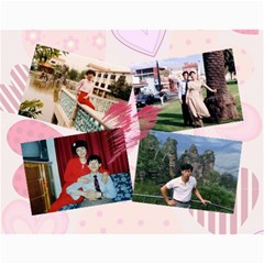 Family Calendar By Xiao Min Wu   Wall Calendar 11  X 8 5  (12 Months)   4pywjkn3r9vs   Www Artscow Com Month