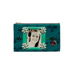 What A Cutie Cosmetic Bag Small By Danielle Christiansen   Cosmetic Bag (small)   T6k43okvc5vz   Www Artscow Com Front