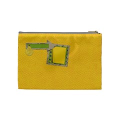 Primary Cardboard Medium Cosmetic Bag 1 By Lisa Minor   Cosmetic Bag (medium)   11p2yz4lb2xg   Www Artscow Com Back